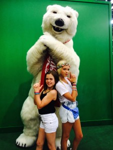 Jordyn Jones and Sparkles Lund