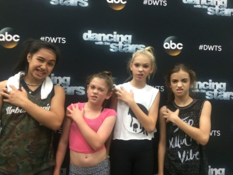 #immaBEAST crew selected for Dancing with the Stars
