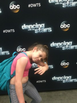 Dancing With The Stars Red Carpet